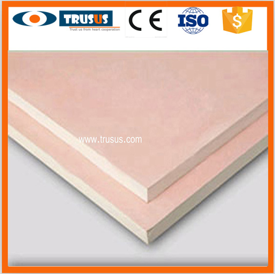 Fire Resistant Types Of Paper Faced Drywall Plasterboard