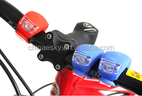 Fashion latest silicone led bike frogs lamp,Multicolor choice