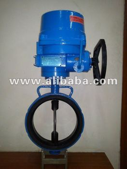 Three phase actuator operated butterfly valve buy motor for Motor operated butterfly valve