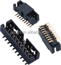 1.27mm 2.0mm 2.54mm SMT type Box header Shrouded header female male connector