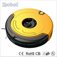 Anti-fall wet dry mop water tank function robot vacuum cleaner