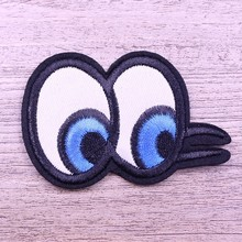 Customized indian best-quality eye embroidery applique