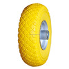 "10""x3.00-4 hand cart small pu foam wheel"