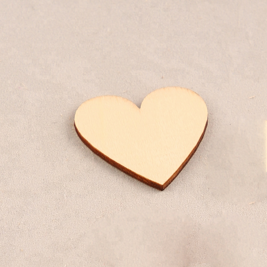 DIY wood heart gift tag decoration laser cut ornament scrapbooking embellishment <strong>craft</strong> for wedding
