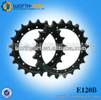 Supply excavator sprockets and chains ,chain sprocket for E120B excavator