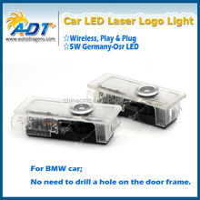 LED Ghost Shadow Laser Projector Logo Door Light for BMW Step Light Car Accessories