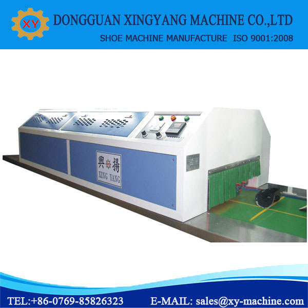Hot Air Circulate Oven Shoe Making Equipment For Shoes Production Line