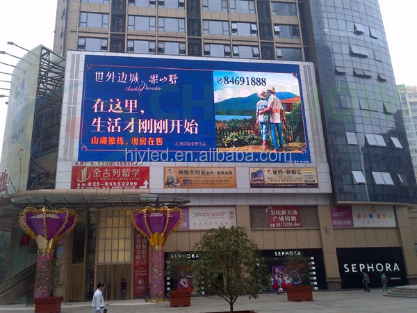 on line shopping india P6 outdoor shenzhen led display factory