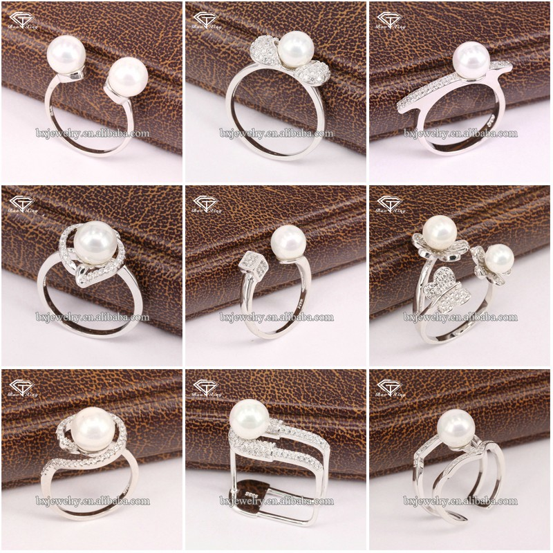 Best selling products for women graceful handcrafted sterling silver clover ring