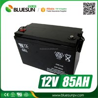 Bluesun deep cycle lead acid 12v 80ah battery for solar system