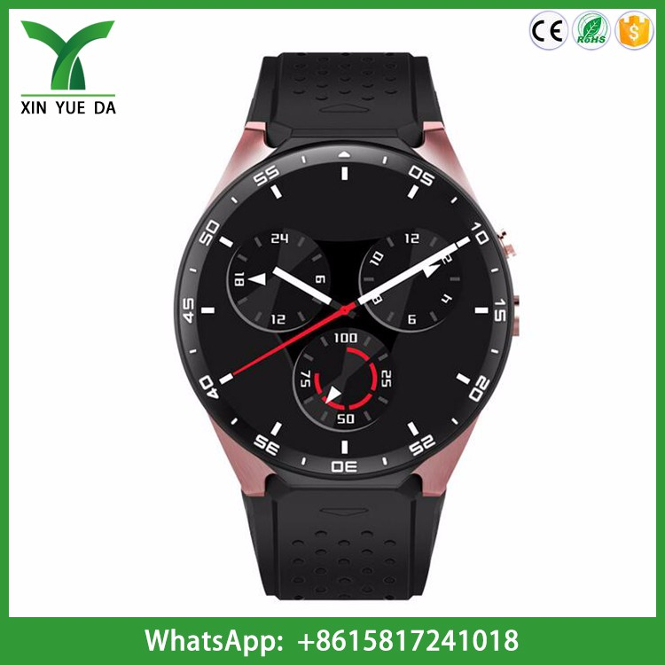 2017 touch screen bluetooth android 5.1 smart watch 3g wifi