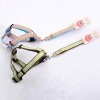 Eco-Friendly Nylon Pet Products New Style Retractable Small Dog Harness and Leash
