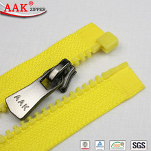 open end large plastic zipper for backpack