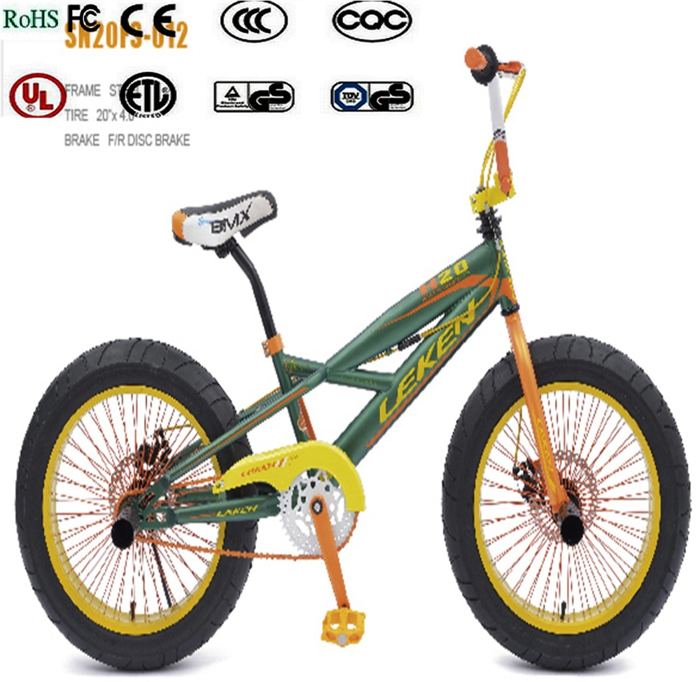 Racing Dirt Jump Street Flatland Freestyle BMX Bike