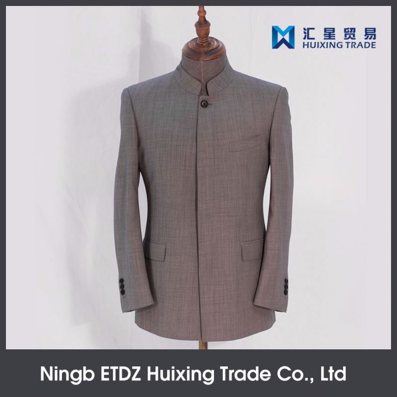 Imported From China Office Wear Used For Wholesale Suits Round Neck Suit Men