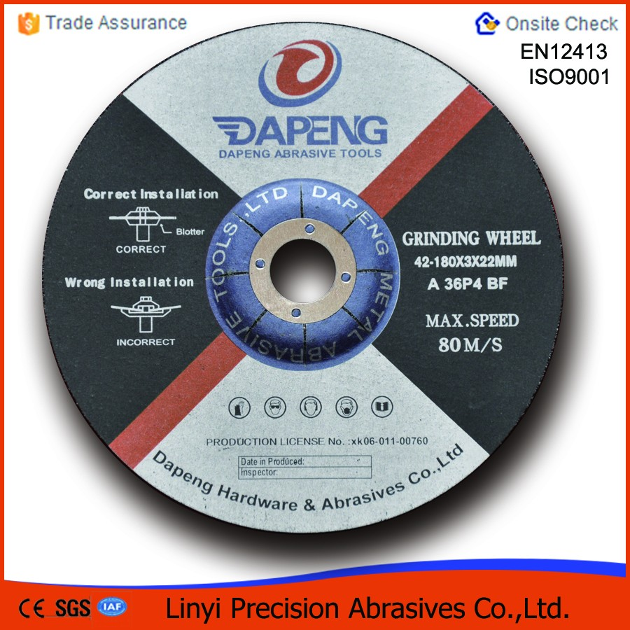 Steel grinding disc cutter
