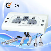 Au-8201wholesale distributors microcurrent face lift machine 2 in 1 ultrasonic facial toning machine