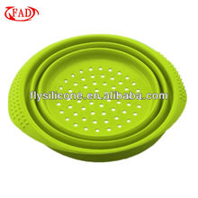 Microwave Safe Silicone Foldable Steamer Baskets Wholesale, Kitchen Tool