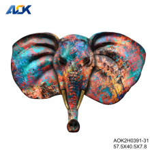 Home Decoration Animal Head Wall Hanging Elephant Decoration
