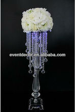 Wedding decoration acrylic chandelier table centerpieces