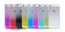 Rain Drop Fancy Mobile Covers for iphone 5,Color Gradient TPU for iphone 5s Covers