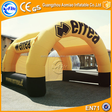 Outdoot inflatable tent 0.55mmPVC usa inflatable tent for sale