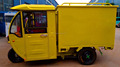 Special purpose electric cargo tricycles for express/courier/EMS/logistics companies