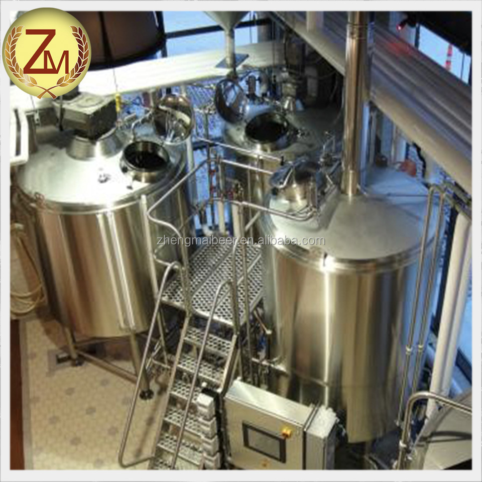 Brewhouse Brewery Production Line 1000L 2 Vessel Brewing Equipment