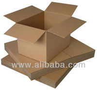 Corrugated Flexo Printing Die-Cut Carton Box Kotak