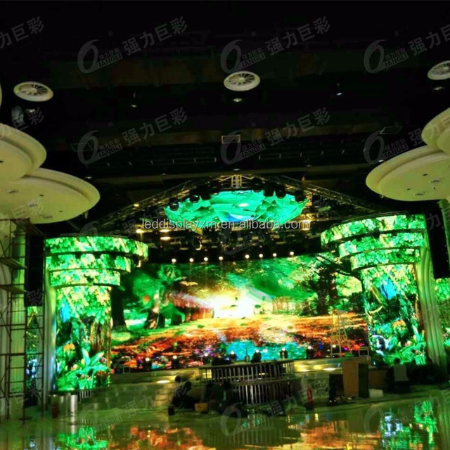 Hot sale Indoor P6 SMD3-in-1 LED Display HD LED video wall screen for stage rental