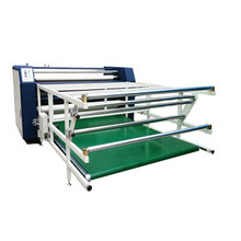 Roll to roll banner umbrella cloth apparel heat transfer printing machine