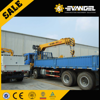 10 ton XCMG Truck Mounted Crane SQ10SK3Q with Telescopic Boom