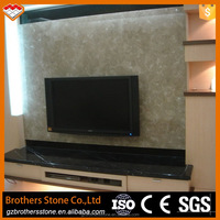 Factory direct sale polished grey marble tile type sunny grey marble tile for walls and floors