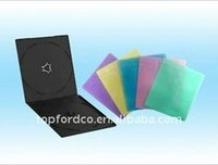 colorful non-woven cd sleeve for single disc