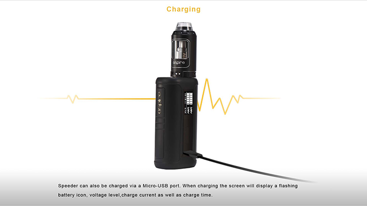 Aspire newest starter kit 200W Speeder Kit, 2ml(TPD) & 4ml tank are available