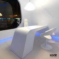 office furniture white reception desk circular desk