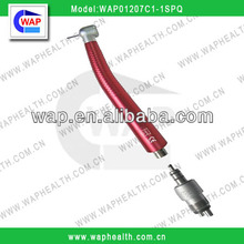 WAP red dental handpiece with coupling