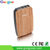 New Products Looking for Distributor Rechargeable Portable Wooden Power Bank 10000Mah with 3 USB Ports