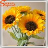 Good quality handmade customize artificial sunflowers wholesale artificial flowers cheap plastic artificial flowers