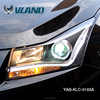 Chevrolet Cruze 2010-2011 modified head light and led tail lamp