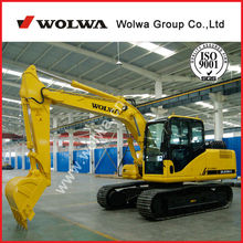 Wolwa 13ton mini hydraulic excavator with Yuchai engine for hot sale