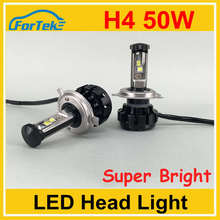 High power car h4 led headlight bulbs 50w 10000 lumen led headlight