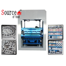 Best selling small concrete punching sawdust brick press machine for myanmar