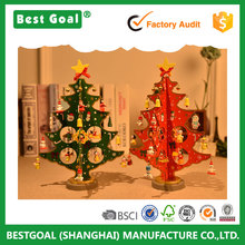 Desktop Christmas decorations ornaments furnishing wooden christmas tree