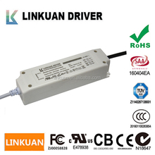 UL FCC TUV SAA CE 60-85W 2.1A 25-42Vdc Programmable Led Driver with 0-10V DMX PWM Dimming