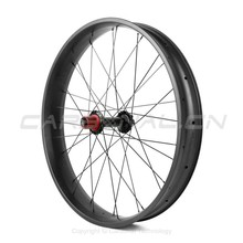 OEM 85mm width carbon fat bike wheelset for snow bicycle