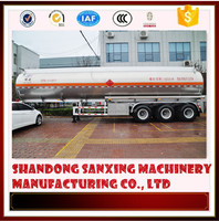 Aluminum fuel thanker trailer truck road tanker capacity biggest