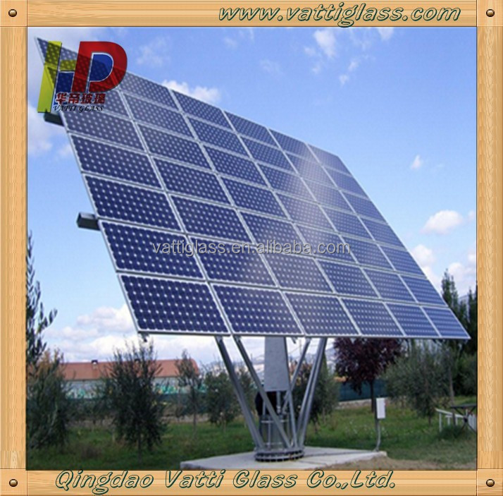 Water Heater Solar Anti-reflective Coated Glass