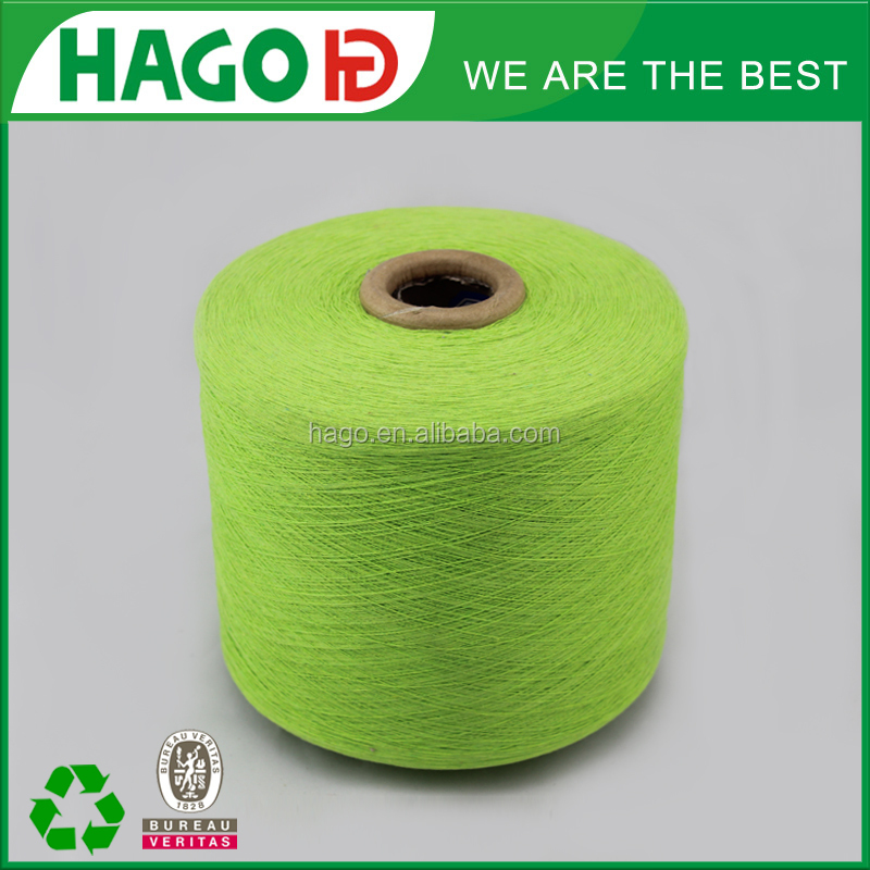 china supplier of OE recycle cotton /regenerated cotton yarn textile sex girl knitting socks