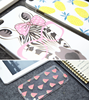"Cute cartoon mobile housing For apple iPhone 6S 4.7"" Luxury Glitter Star Liquid Back Phone Case Cover"